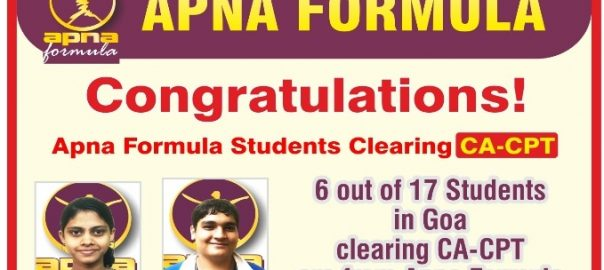 Apna Formula CA-CPT Achievers